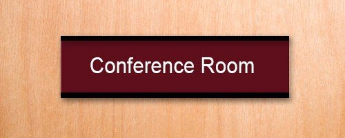 Conference Room Signages