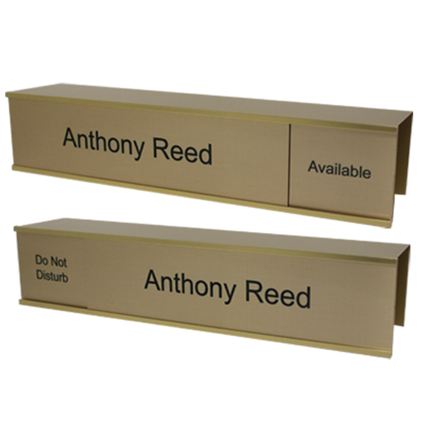 Slider Cubicle Name Plates - NapNameplates