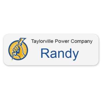 Custom-Magnetic-Color-Name-Badge