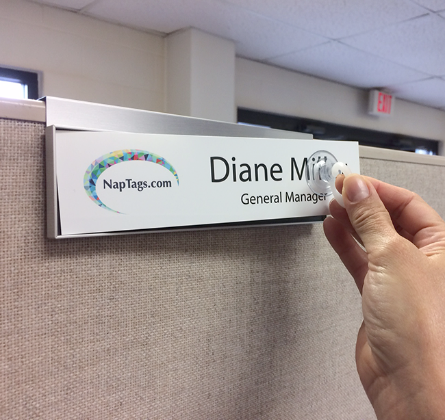 Cubicle Name Plate Holder Frames 8 Quot Or 10 Quot For Magnetic