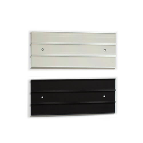 Triple nameplate holder for doors and walls. Change name plates easily, just slide them in! Durable and affordable. NapNameplates.com