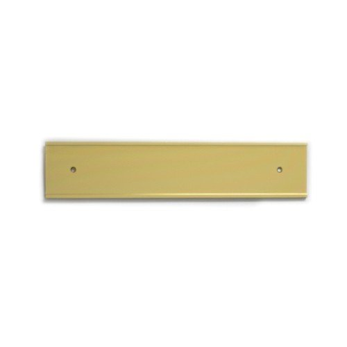 Office Nameplate Holders for Doors and Walls in Gold 10-in (PG089-Y) - Nap-Nameplates.com
