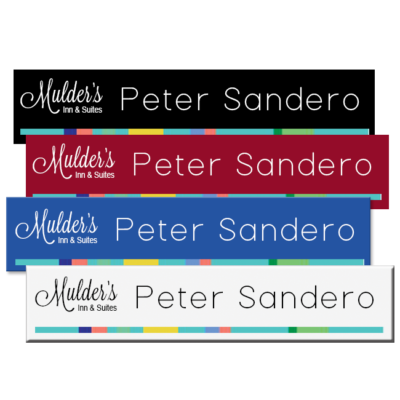 Plastic Color Printed Nameplates