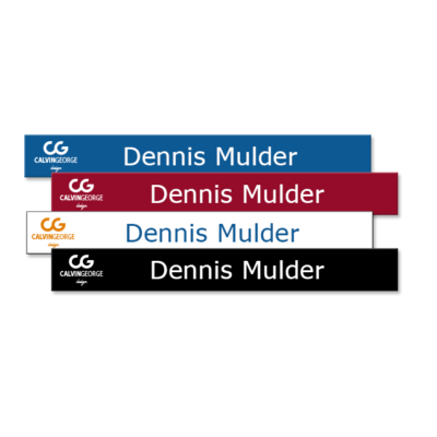 Plastic office name plates customized with employee names, conference room door signs and much more. NapNameplates.com