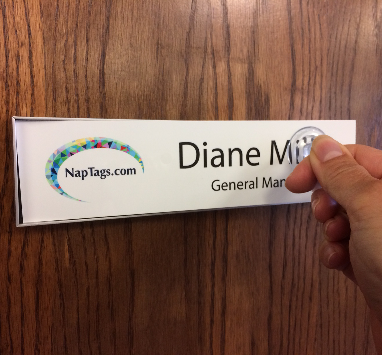 Changeable Name Plate Frames for Walls or Doors 8\