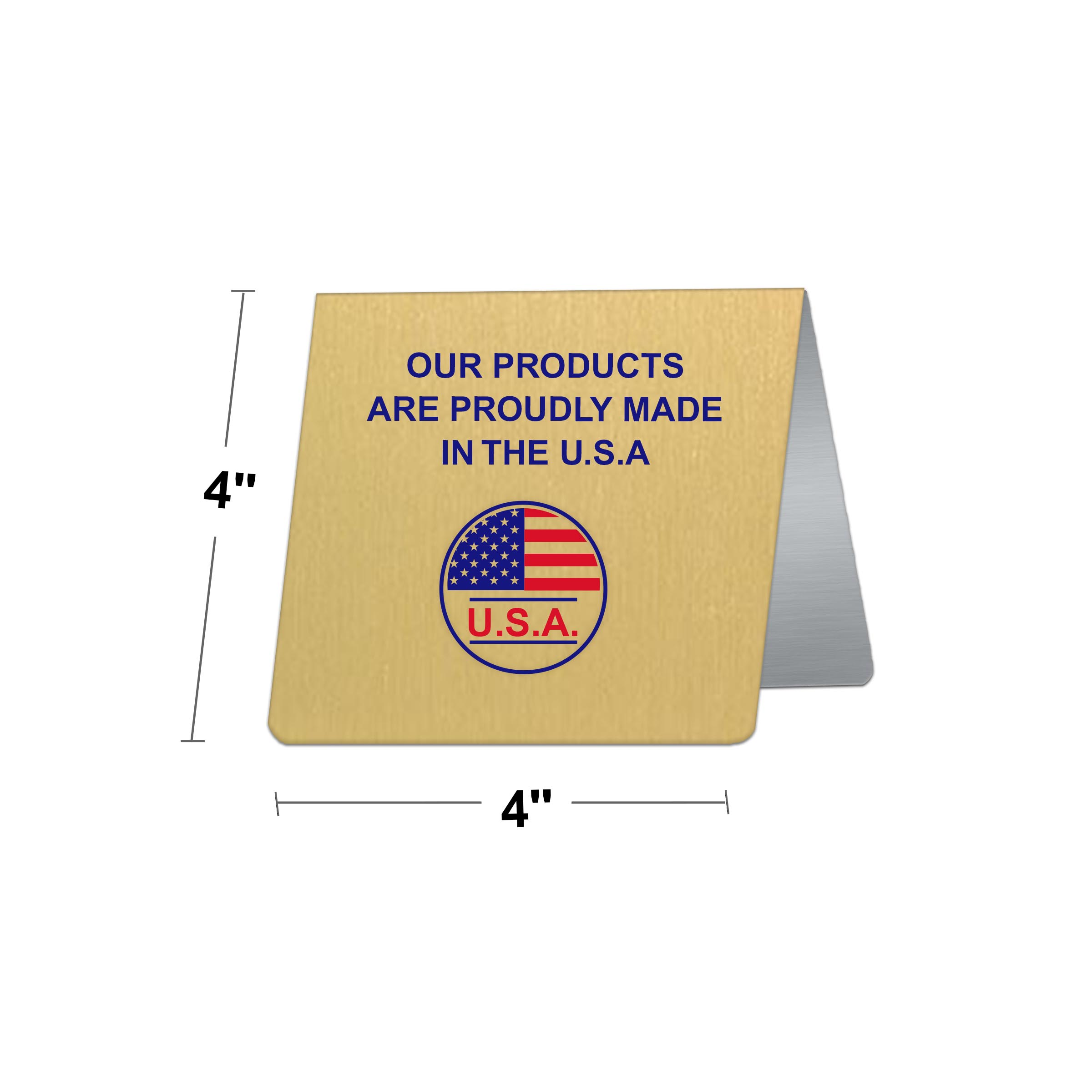 Fabulous 4 X 4 Custom Printed Table Tent Signs Download Free Architecture Designs Scobabritishbridgeorg
