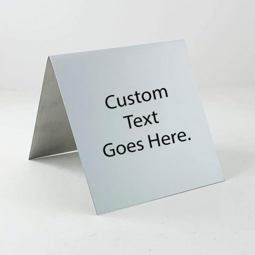 custom table top sign
