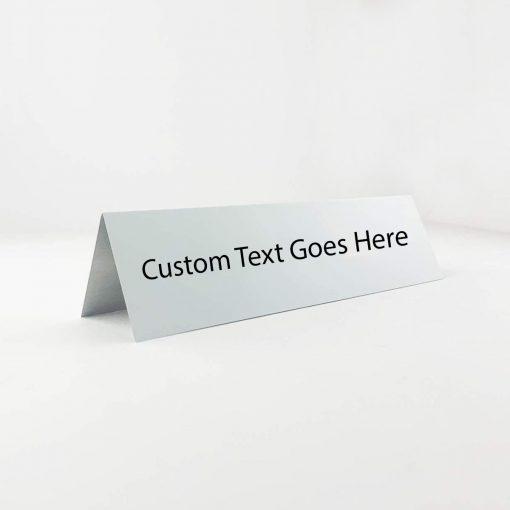 custom table top sign