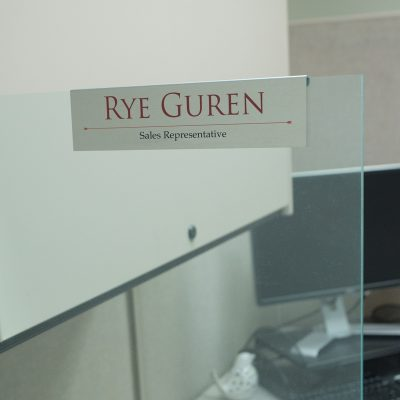 Cubicle Nameplate Holders Over The