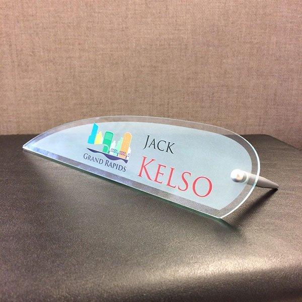office acrylic nameplates