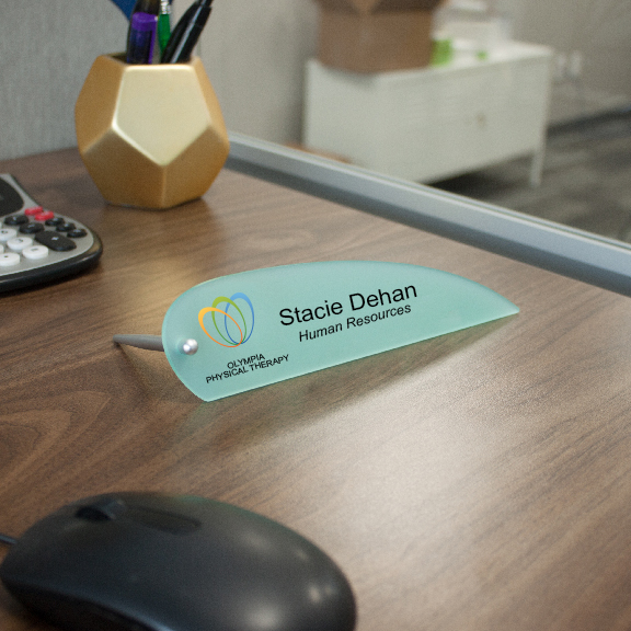 Designer Desktop Acrylic Name Plates
