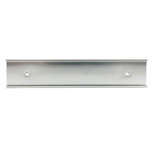silver nameplate holder