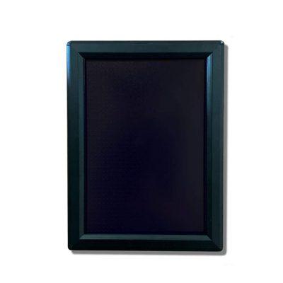 snap frames, black