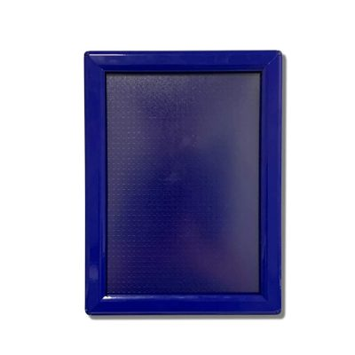 snap frame, blue