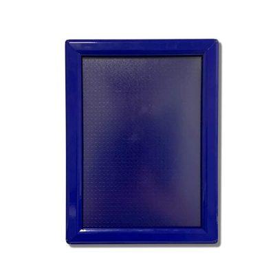snap frame, blue