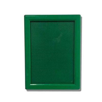 green snap frame