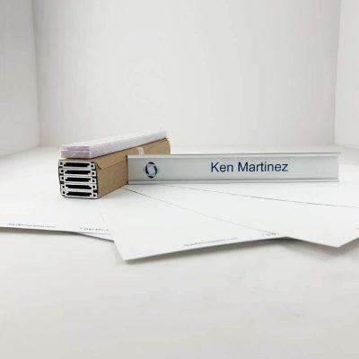 printable name plate holder kit