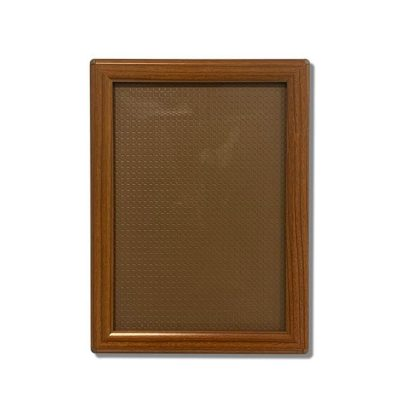 wood grain snap frame