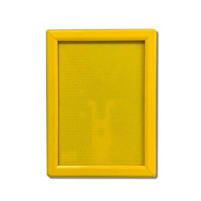 yellow snap frame