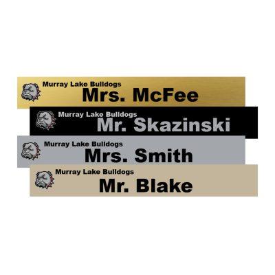 14x2 name plates